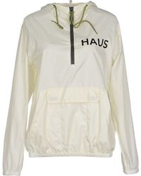 Haus By Golden Goose Deluxe Brand Jacket white - Lyst