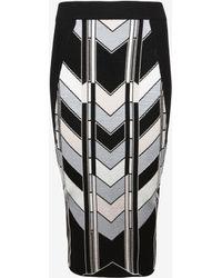 Ted Baker | Skyscraper Knitted Midi Skirt | Lyst