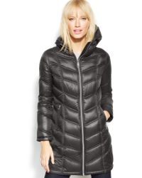 Calvin Klein Petite Quilted Down Packable Puffer Coat - Lyst
