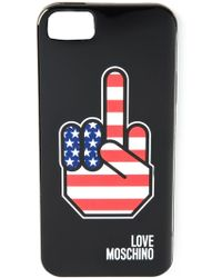 Love Moschino American Hand Iphone 5/5S Cover - Lyst