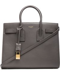 Saint Laurent Small Sac De Jour Carryall Bag - Lyst