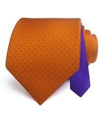 Happy Ties - Textured Mini Dot Classic Tie - Lyst