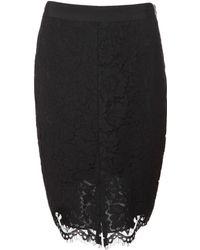 Rachel Zoe Corded Lace Pencil Skirt - Lyst