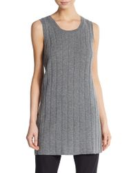 Haider Ackermann Wool & Cashmere Ribbed Tunic - Lyst