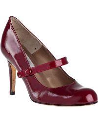 Vaneli For Jildor Lenita Pump Red Patent - Lyst