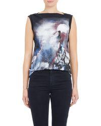 Stella McCartney Howling Wolf Sleeveless T-Shirt - Lyst