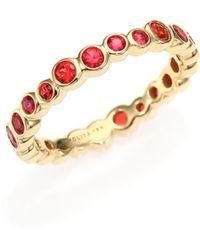 Ippolita Glamazon Starlet Orange Sapphire & 18K Yellow Gold Band Ring red - Lyst