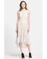Veronica Beard Geometric Lace Dress - Lyst