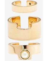 Maria Francesca Pepe - Exclusive Pearl Ring Set - Lyst