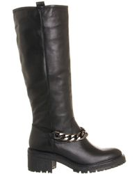 Office Nightly Heavy Chain Knee Boot - Lyst