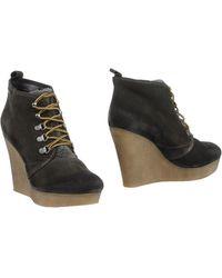 DIESEL - Shoe Boots - Lyst