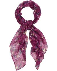 Oasis Shadow Floral Shoot Scarf - Lyst