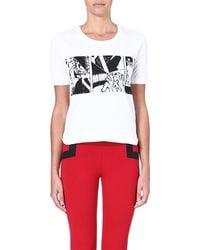 Y-3 Graphic-print Cotton T-shirt - Lyst