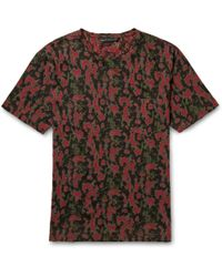 Marc By Marc Jacobs Printed Cotton Tshirt - Lyst
