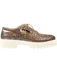 Alberto Guardiani Sneakers Shoes New England Oxford In Glitter Micro Sole - Lyst