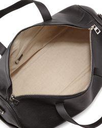 Loewe - Small Leather Duffle Bag - Lyst