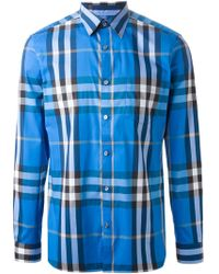 Burberry Brit 'Exploded Check' Shirt - Lyst