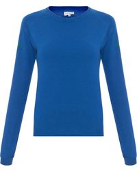 Chinti & Parker Star Shoulder Sweater - Lyst