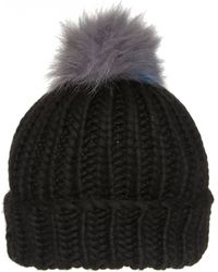 Eugenia Kim | Knit Fur Pompom Rain Beanie | Lyst