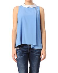 Cacharel Short Sleeve Top - Lyst