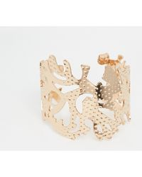 Coast - Cage Cuff Bracelet - Lyst