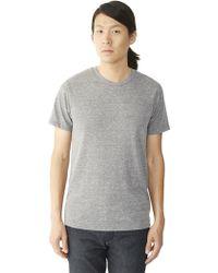 Alternative Apparel Drop Neck Crew T-Shirt - Lyst