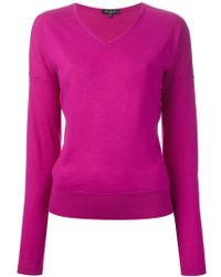Etro V-neck Sweater - Lyst