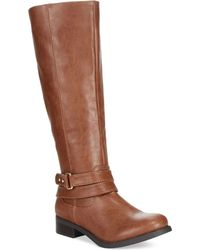 Material Girl Levi Tall Shaft Boots - Lyst