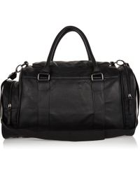 River Island Black Small Holdall - Lyst