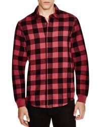 Alternative Apparel - Flannel Expedition Regular Fit Button Down Shirt - Lyst
