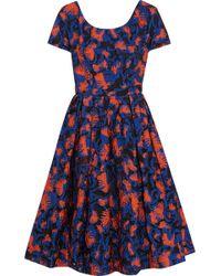 Mary Katrantzou Fil Coupé Dress - Lyst