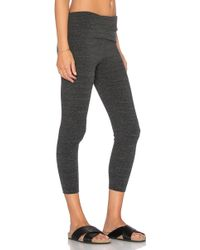 Saint Grace - Cropped Jersey Leggings - Lyst