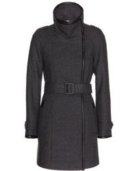 Burberry Brit Waltford Wool Blend Coat - Lyst