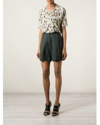 Henrik Vibskov - Side Button Fastening Shorts - Lyst
