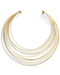 Argento Vivo - Multistrand Collar Necklace - Lyst