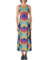 Mara Hoffman Cutout Dress - Lyst