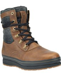 Timberland The Earthkeepers Shazzberg High Waterproof Insulated Boot - Lyst