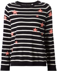 Chinti & Parker 'Stars And Stripes' Sweater - Lyst