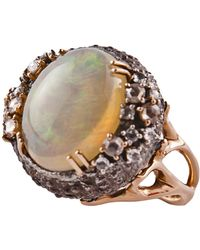 Federica Rettore - Sea Urchin Cocktail Ring - Lyst