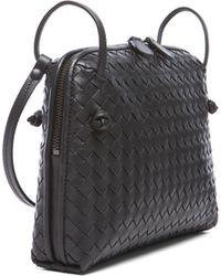 Bottega Veneta Intrecciato Nappa Cross Body Bag - Lyst