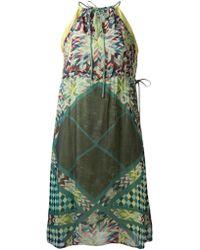 Conditions Apply - Zanvio Printed Dress - Lyst