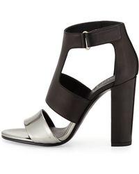 Vince Aretha Bicolor Leather Sandal - Lyst