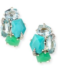 Alexis Bittar Fine - Marquis Cluster Clip-on Earrings - Lyst