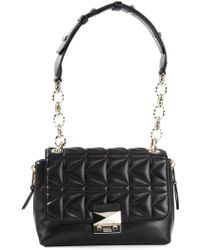 Karl Lagerfeld Small Quilted Shoulder Bag - Lyst