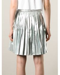 Kai-aakmann - Pleated Skirt - Lyst