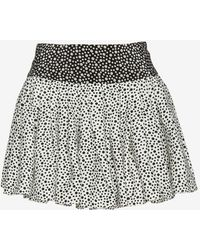 OTTE New York | Flouncy Pleated Polka Dot Print Skirt | Lyst
