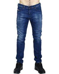 Diesel Jeans Tepphar Skinny Carrot Used Denim - Lyst