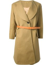 Peter Jensen Belted Trench Coat - Lyst