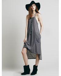 Free People Neelys Apron Dress - Lyst