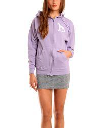 Blue&Cream Dane Hoody In Purple - Lyst